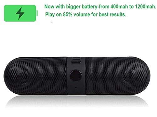 Konarrk Wireless Bluetooth Soundbar Pill Speaker for Android & iOS Devices (Color May Vary)