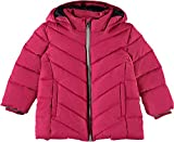 NAME IT Mädchen Jacke NMFMIL Puffer Jacket Camp, Rosa Virtual Pink, 104