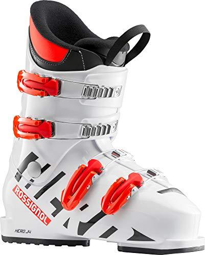 Rossignol Hero J4 Skischuh Junior, Unisex Kinder, Unisex-Kinder, RBH5050, Weiß (White), 265