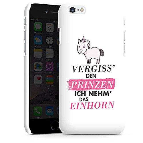 Apple iPhone 5c Hülle Premium Case Cover Einhorn Unicorn Sprüche Mädchen Premium Case matt