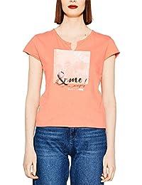 edc by Esprit 057cc1k001, T-Shirt Femme