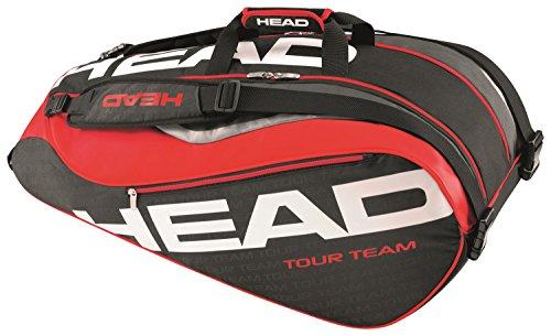 Head Tour Team 9R Supercombi Schläger Sporttasche schwarz