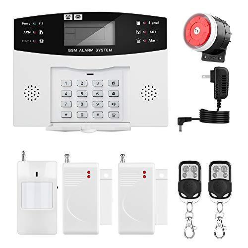 Sistema de Alarma gsm para Casa, Inalámbrico, Antirrobo,...