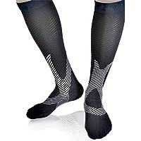 Gimitunus Bequem und leicht Langes Rohr Rutschfeste Laufreisen für Outdoor-Aktivitäten Compression Socks - Boost Stamina, Circulation