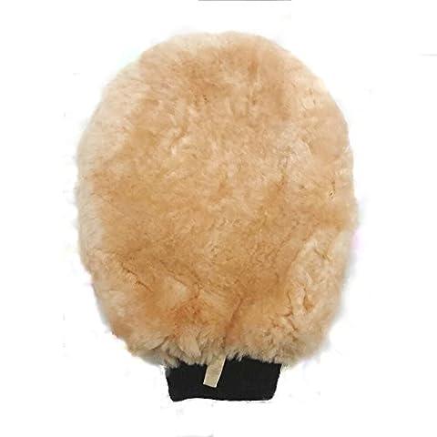 Jaly Lambs Wool Wash & Polish Mitt 1 Pack