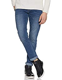 Amazon Brand - Symbol Men's Skinny Jeans (ADBX-SK-595_Dark Blue1_34)