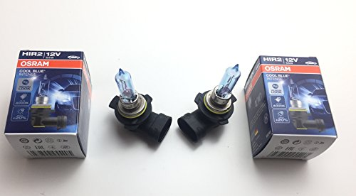 2x OSRAM hir2lámpara Cool Blue Intense 90129012cbi12V 55W E1fabricado en Alemania Hir...