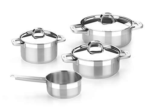 Bra Advance - Batería cocina 4 piezas acero inoxidable