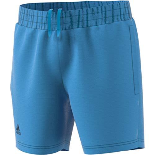 adidas Jungen Club Shorts, Shock Cyan/Black, 128