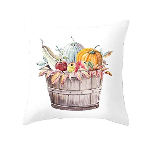 ITCHIC Fodera Per Cuscino Per Zucca In Autunno Halloween Copridivano Copridivano Divano Home Decor Federa Per Abbraccio Di Zucca Dell'Acquerello Di Halloween