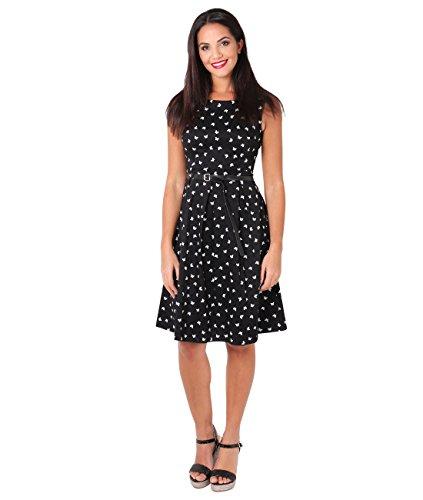 KRISP Rockabilly Pin Up Kleid 50er Jahre Vintage Kleid - 2