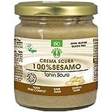 Probios Organic Spread Tahin Dark Sesame Cream Gluten Free, 200g - Pack of 1