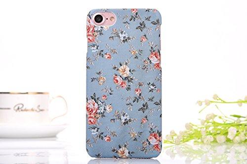 iphone7 Schutzhülle Smartphone Case einzigartige Design Back Cover Tasche (Blumen 8)
