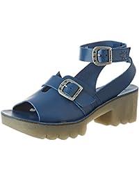 4f218826244b Amazon.it: sandali blu pelle - Blu / Sandali / Scarpe da donna ...