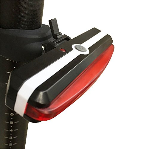 Awnic Luz Trasera USB Recargable para Bicicleta...