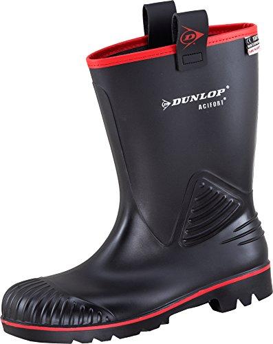 Dunlop Acifort Rocker Black S5 Sfoderato - Stivali Di Sicurezza Neri