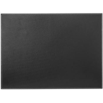 sigel sa106 schreibunterlage eyestyle aus hochwertigem leder imitat schwarz wei weitere. Black Bedroom Furniture Sets. Home Design Ideas