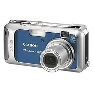 "Canon PowerShot A460 Digital Camera - Blue (5.0MP, 4x Optical Zoom) 2.0 "" LCD"