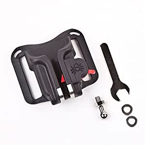 SpiderHolster Black Widow Spider Camera Holster for Lightweight DSLRs and Point-and-shoot Came