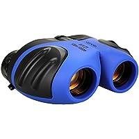Juguetes para niños de 4-5 años, binoculares para niños, TOG Gift 8x21 telescopio Compacto para Vida Silvestre y Teatro Hunter Zoom óptico para niños de 4 a 10 años Blue TG02
