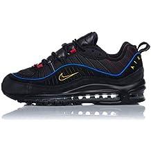 pretty nice ecab4 5745c Nike Air Max 98 CD1537-001 Black Amarillo