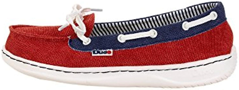 Dude Shoes Women's Moka Classic Red Multi