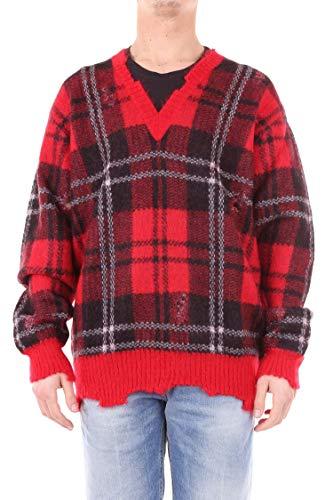 Alexander McQueen Herren 534376Q1rqt6543 Rot Wolle Sweater