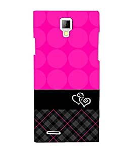 Sqara Pattern 3D Hard Polycarbonate Designer Back Case Cover for Micromax Canvas Xpress A99