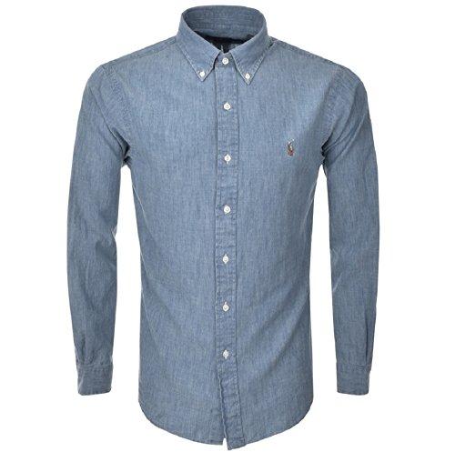 ralph-lauren-camisa-casual-basico-con-botones-para-hombre-multicolor-lavado-ligero-medium