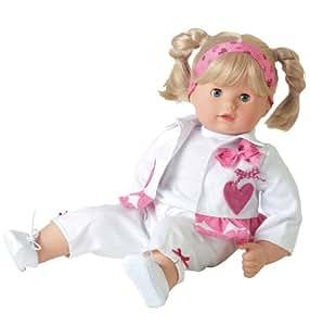 Götz Puppen 1227162 Poupée Maxy Muffin - Cheveux blonds