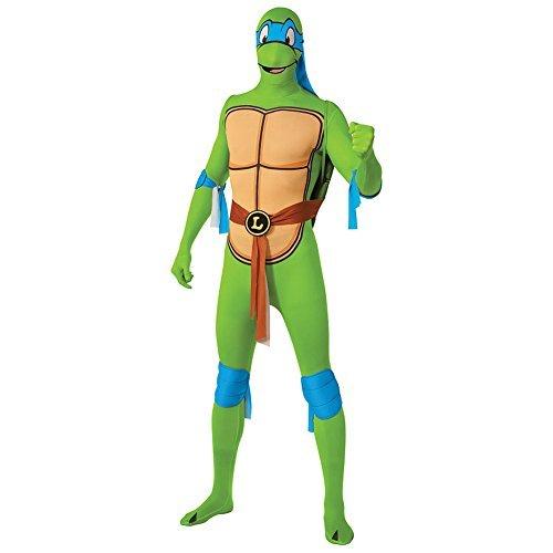 Erwachsene Kostüm Rubies Neu Teenage Mutant Ninja Turtles Ninja Turtles Leonardo 2nd Skin misura - x L - (Kostüme Raphael Jumpsuit Erwachsenen)