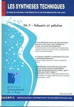Polluants et pollution
