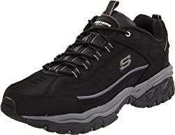 Skechers Sport Energy Downforce Lace-up Sneaker Black 8 D(M) US