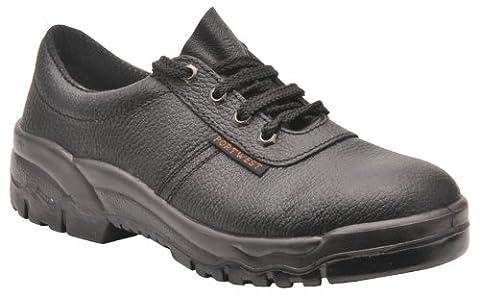 Portwest Steelite Protector Shoe S1p, Herren Sicherheitsschuhe, Schwarz (Black), Gr.36 (Resistant Steel Toe Schuhe)
