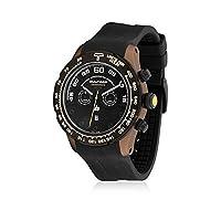 Bultaco H1Sc48C-Sb1 - Reloj Scandium Limited Correa Silicona Marrón/Negro de Bultaco