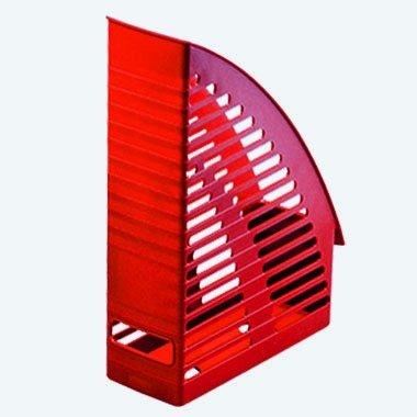 Preisvergleich Produktbild herlitz Stehsammler, DIN A4, aus Kunststoff, rot