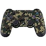 DOTBUY PS4 Controlador Diseñador Piel para Sony PlayStation 4 mando inalámbrico DualShock x 1 (Camouflage Black)