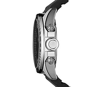 Reloj Fossil CH2573 de cuarzo para hombre con correa de piel, color negro de Fossil