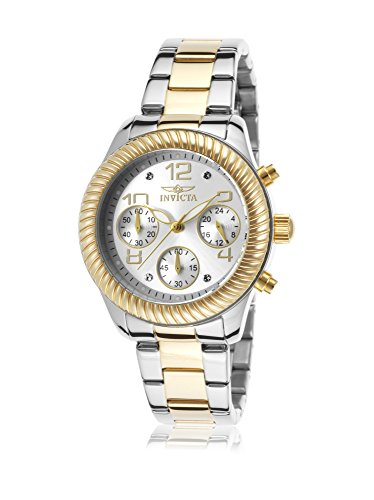 INVICTA WOMEN'S ANGEL GOLD-TONE STEEL BRACELET & CASE SWISS QUARTZ WATCH 20268