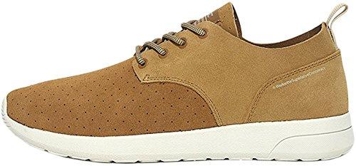 Wesc Men's Men's Suede Low Brown Sneakers In Size 43 Brown