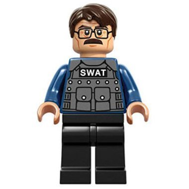 LEGO Superheroes: COMMISSIONER GORDON Minifiguren (DC BATMAN) (Batman Superheroes Dc Lego)