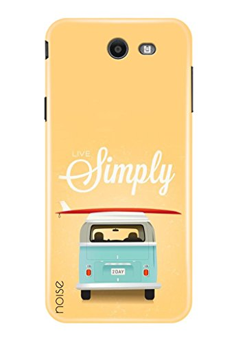 Noise Designer Printed Case / Cover for Samsung Galaxy J7 2017 / Graffiti & Illustrations / Live Simply - (GD-840)  available at amazon for Rs.399