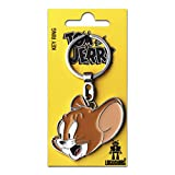 Dessin animé - Tom et Jerry - souris Jerry Porte-clés - Key-Ring - coloré - Design original sous licence - LOGOSHIRT
