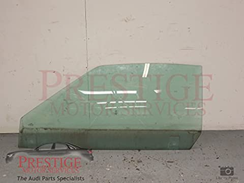 Audi 80 Cabriolet Front NS Left Door Window Glass