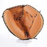 XYHX Gant de Base-Ball 12,5 Pouces Gants Catcher épais PVC Imitation Cuir Infield Gants Adulte Gants Attraper