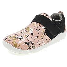 Bobux Shoes with Velcro I Walk Aktiv SPEKKEL 633905 Pink/Black