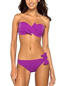 Lorin L2095/7 completo bikini due pezzi uniforme coppa imbottita con ferretti - fabbricato in UE