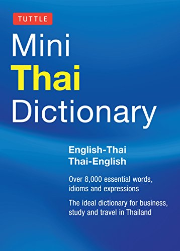Tuttle Mini Thai Dictionary: Thai-English / English-Thai (Tuttle Mini Dictiona)