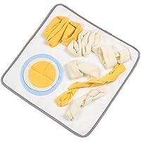 Snuffle Mat para Perros Extraíble Lavable Alfombrilla de Entrenamiento Juguete para Morder Alfombra de Juego Entrenar Habilidades Naturales de Forraje Estera de Alimentación Nosework Blanket