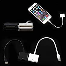 Leneom store Material Robusto Lightning Adapter Connector Converter Dock 8 Pin para teléfono 5s Female a
